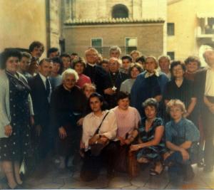 prievalsí farníci v Ríme